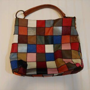 Stella & Max Leather Patchwork Purse